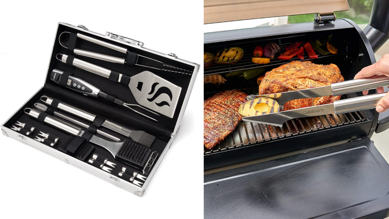 The best gifts for men: Cuisinart Grill Set