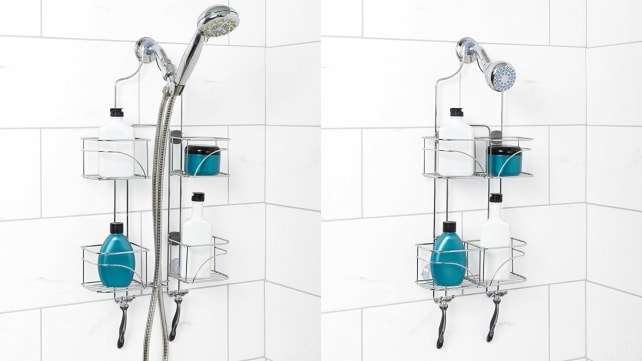 Zenna Home Expandable Over-the-Showerhead Caddy