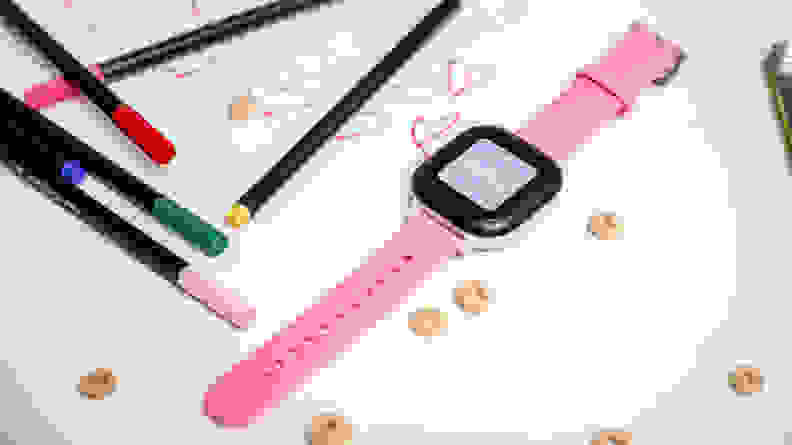 The GizmoWatch 2 is our favorite kids smartwatch.