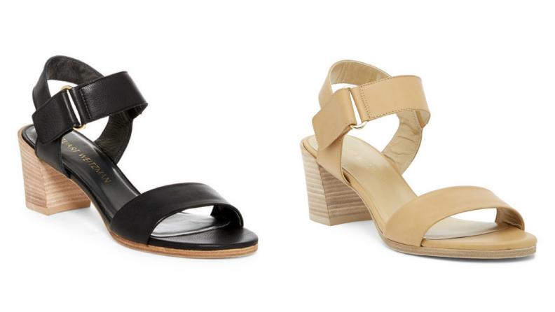 Stuart Weitzman Broadban Ankle Strap Sandal