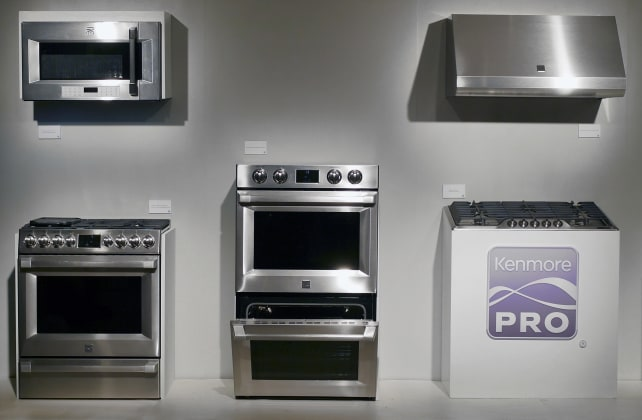 Upscale Kitchen Design Goes Mainstream With Kenmore Pro - Reviewed ...