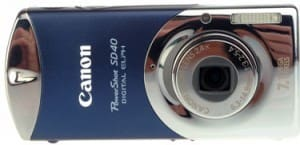Product Image - Canon PowerShot SD40