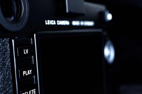 The Leica M is the first M-series camera to feature live view and video recording.