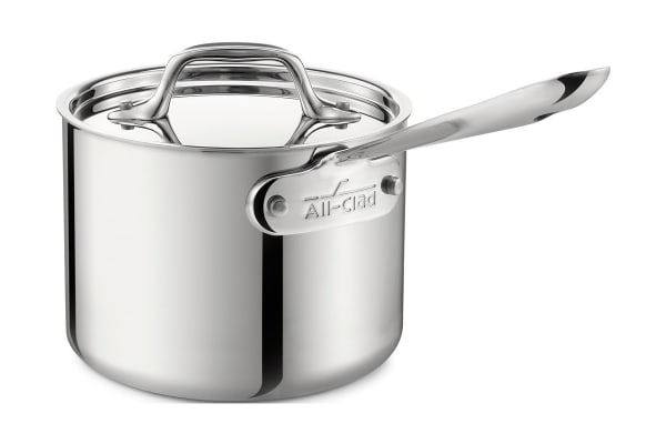 All-Clad 2-Qt. Sauce Pan with Lid Stainless