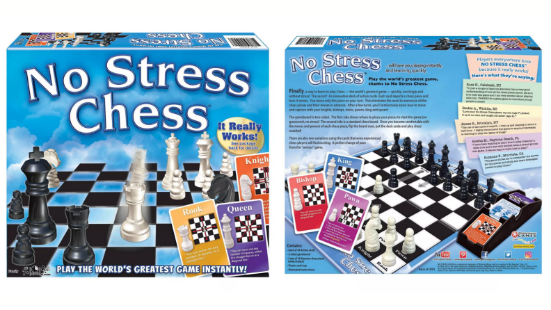 No-stress chess set