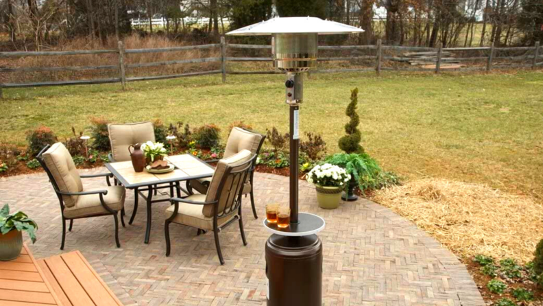 propane outdoor heater
