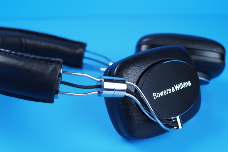 With shiny metal and smooth leather, the P5 Wireless wins major props in the design department.