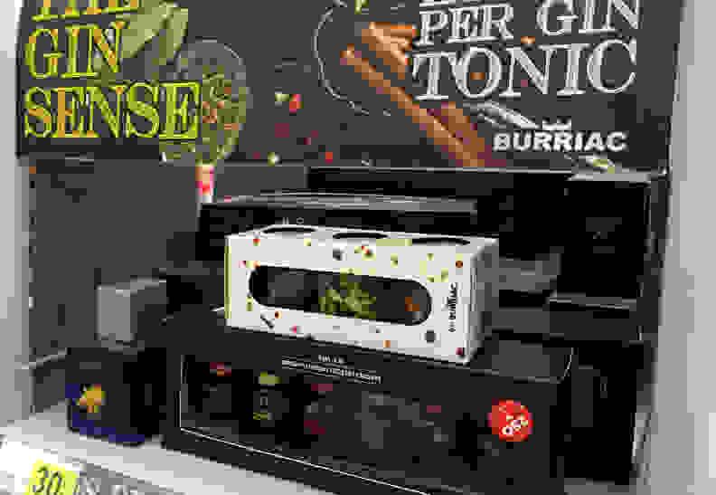 Gin tonic mixers