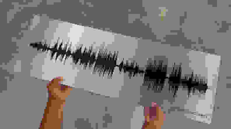Song Soundwave print