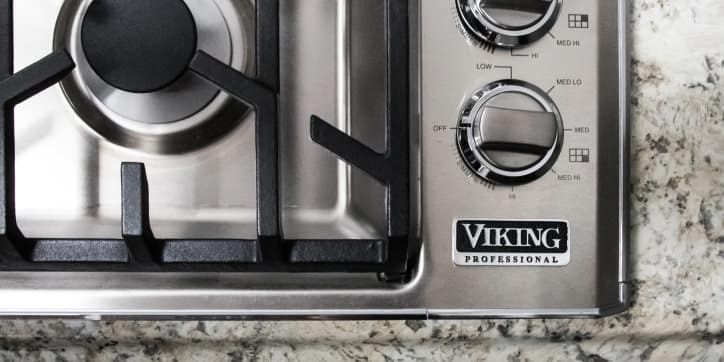 Viking VGSU5366BSS 36-inch gas cooktop
